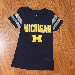 Other - 3/$15 girls U of M Wolverine tee  *see description